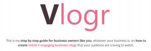 Vlogr-Review